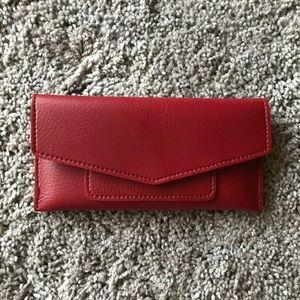 Handbags - Burgundy Envelope Wallet